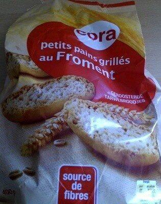 Petits pains grillés au froment - Product - fr