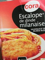 Escalope de dinde milanaise, spaghetti sauce tomate - Informations nutritionnelles - fr