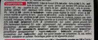 Crêpes jambon emmental - Ingredients - fr