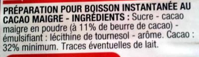 Pur arôme - Ingrédients - fr
