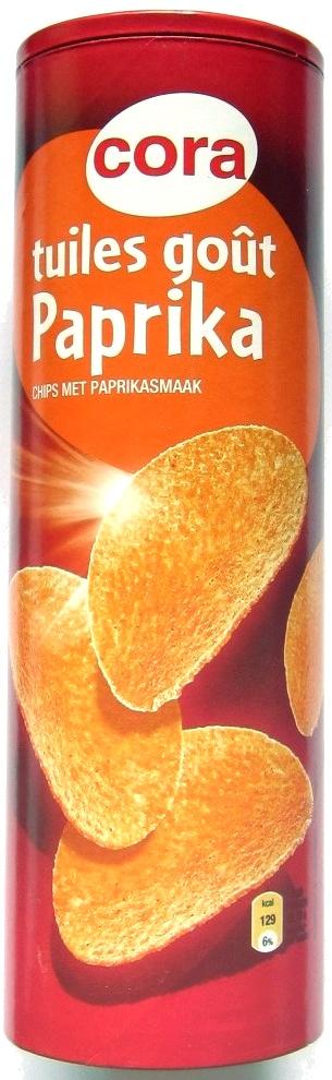 Tuiles goût paprika - Product