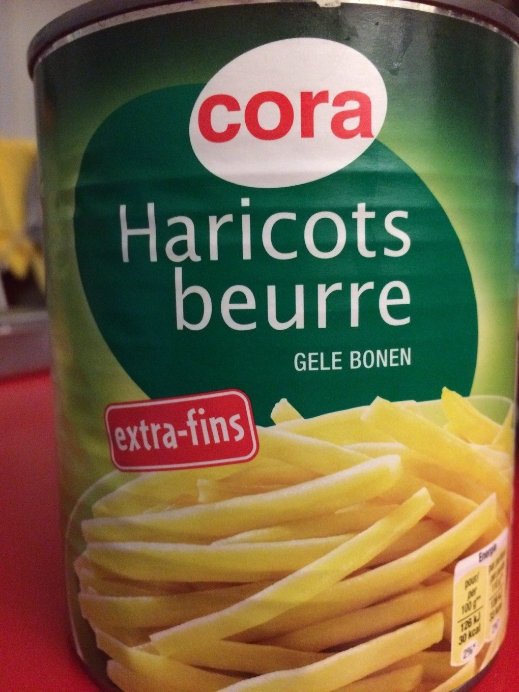Haricots beurre extra fins , 440g - Product