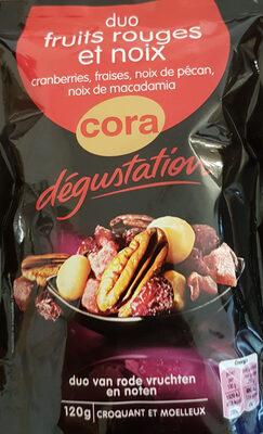 Duo Fruits rouges et noix - Produit - fr