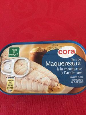 Filets de maquereaux à la moutarde à l'ancienne - Informations nutritionnelles