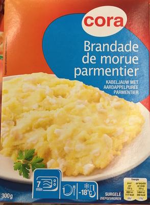 Brandade de morue parmentier, Surgelé - Produit - fr