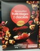 Duo croustillant fruits rouges 2 chocolats - Produit