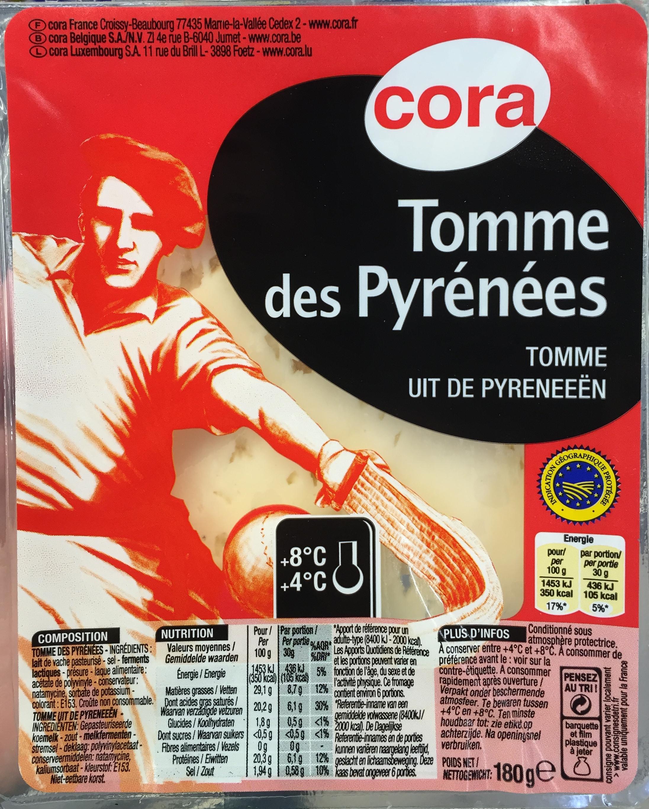 Tomme des Pyrénées (29,1% MG) - Produit - fr
