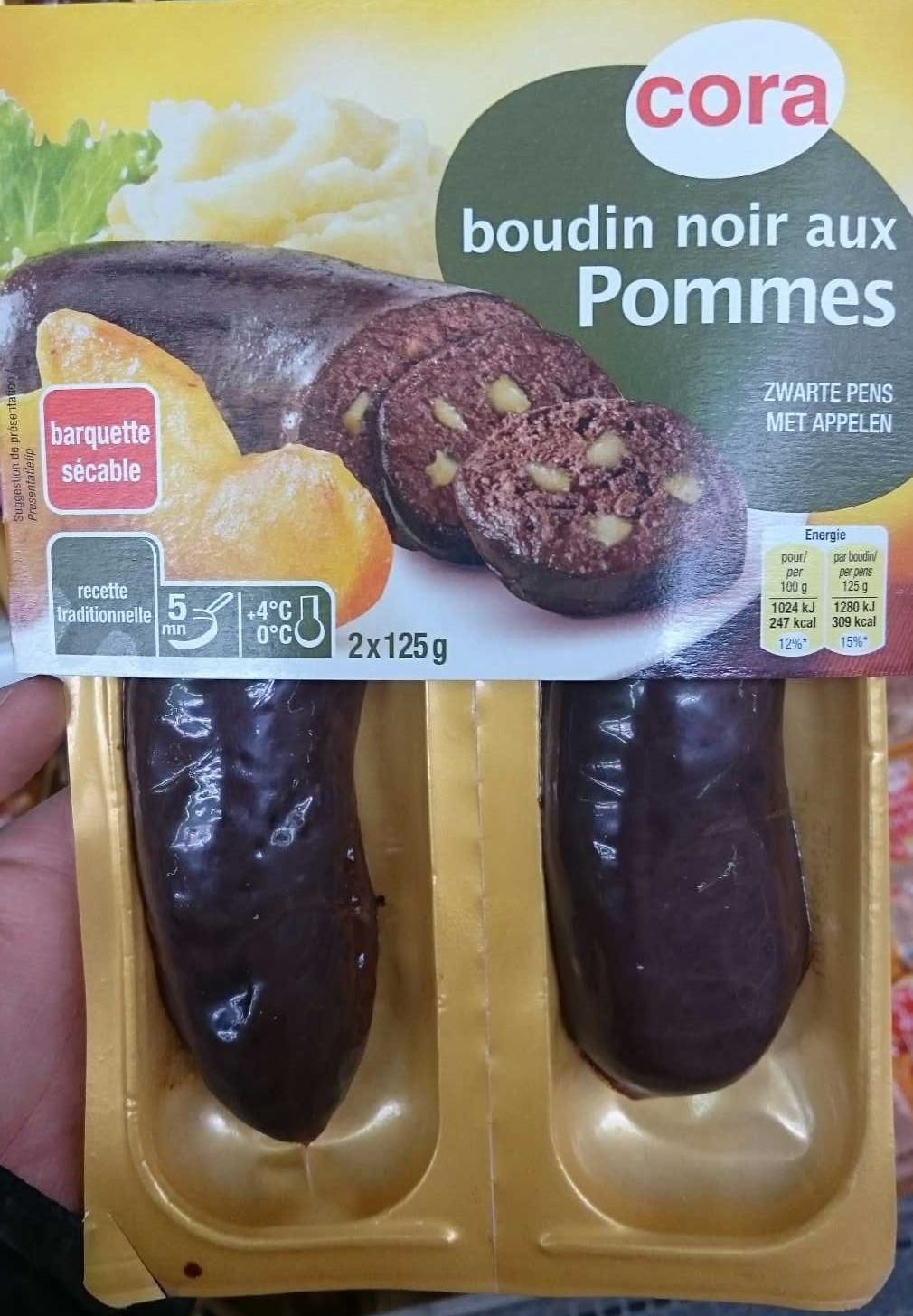 Boudin noir aux Pommes - Produit