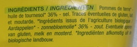 Chips - Ingredientes - fr