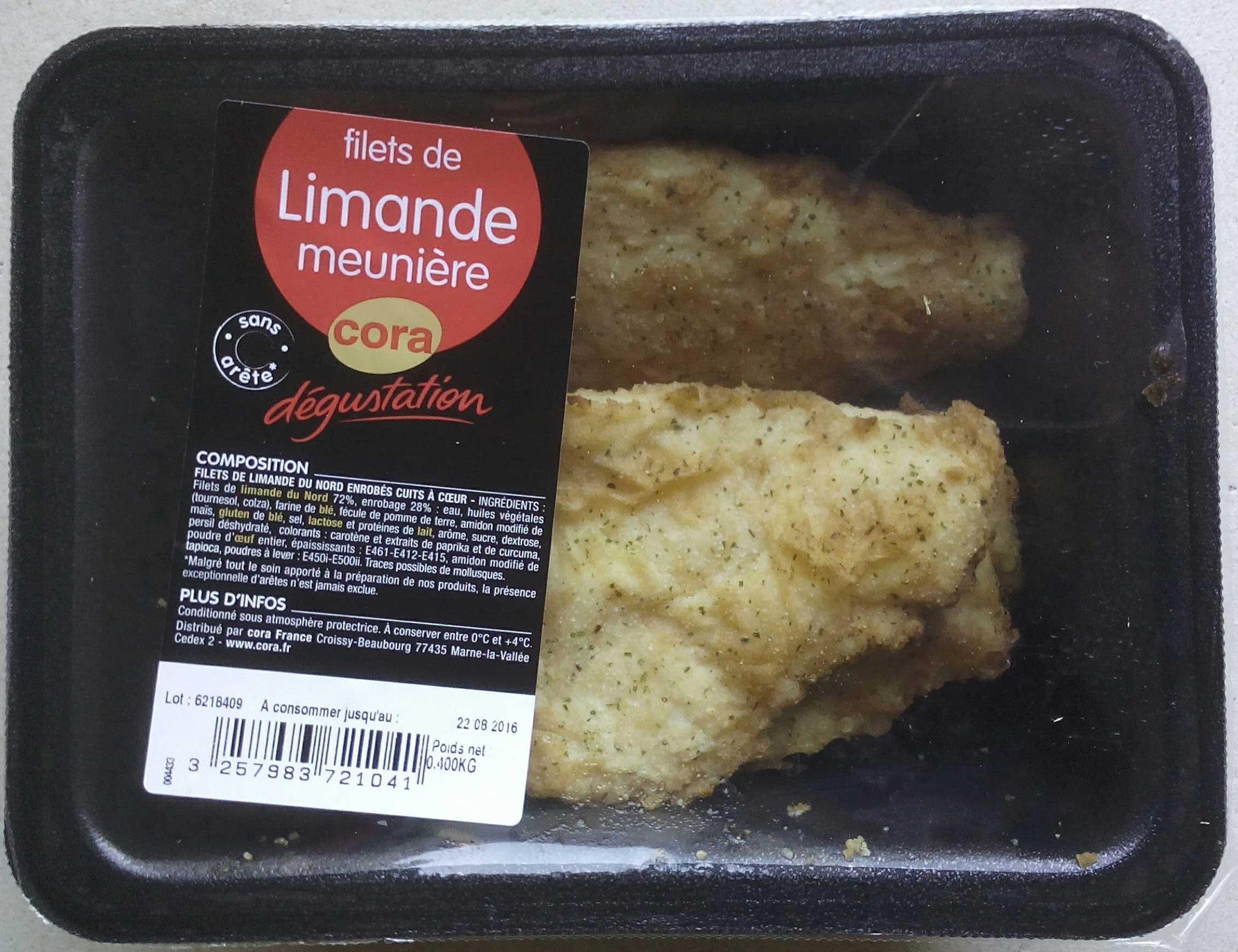 Filets de Limande Meunière - Product