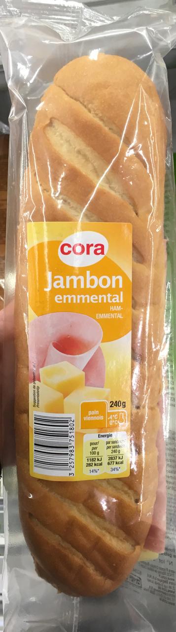 Jambon Emmental - Produit - fr