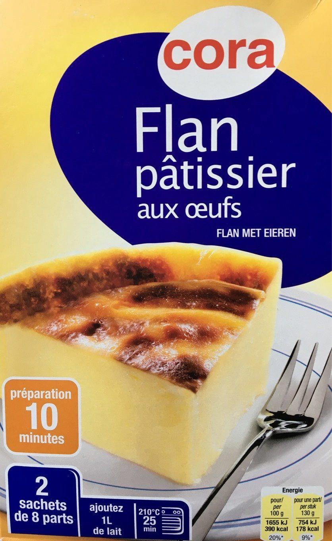 Flan patissier aux oeufs - Prodotto - fr