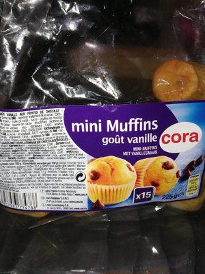 Mini Muffins goût vanille - Product - fr