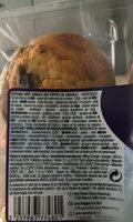 Muffins goût vanille - Ingredients - fr