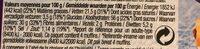 Muffins goût vanille - Nutrition facts - fr