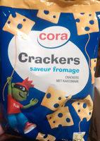 Crackers saveur fromage - Produit - fr