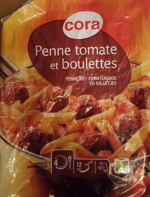 Penne tomate et boulettes - Produit