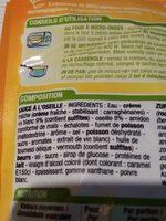 Sauce oseille - Ingredients - fr