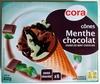 Cônes Menthe Chocolat sauce Chocolat - Produit