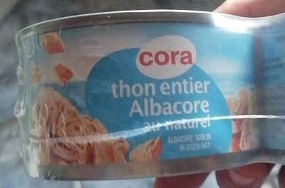 Thon Albacore au naturel - Product - fr