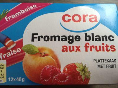 Fromage blanc aux fruit - Produit
