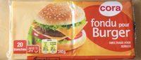 Fromage Fondu Spécial Hamburger - Produit - fr