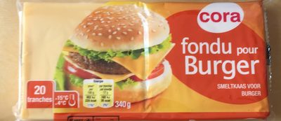 Fromage Fondu Spécial Hamburger - Produit