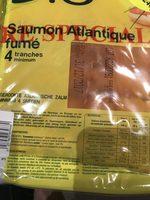 Saumon atlantique bio - Ingrédients - fr
