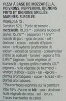 Pizza Pepperoni cuite sur pierre - Ingrédients