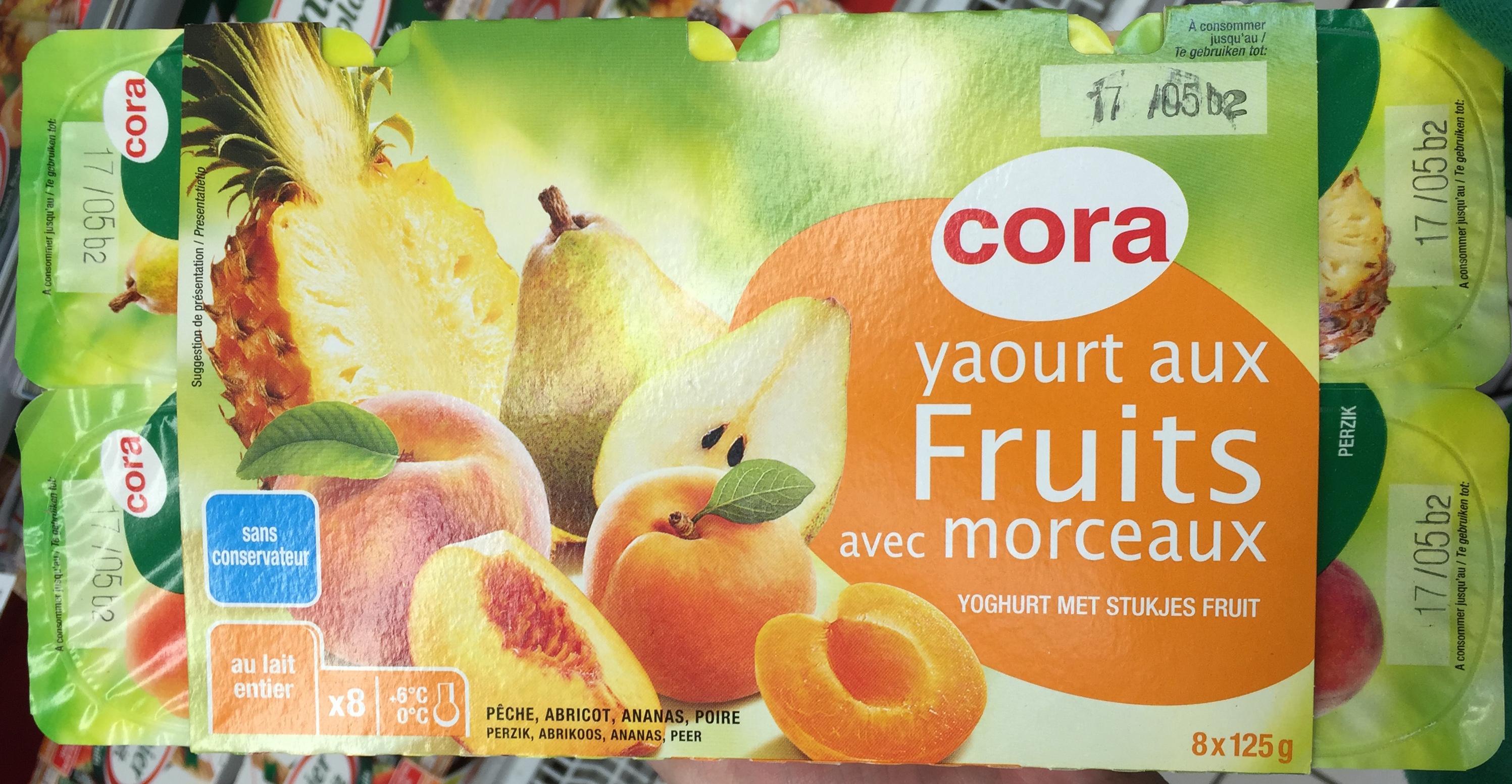 Yaourt aux Fruits avec Morceaux - Product - fr