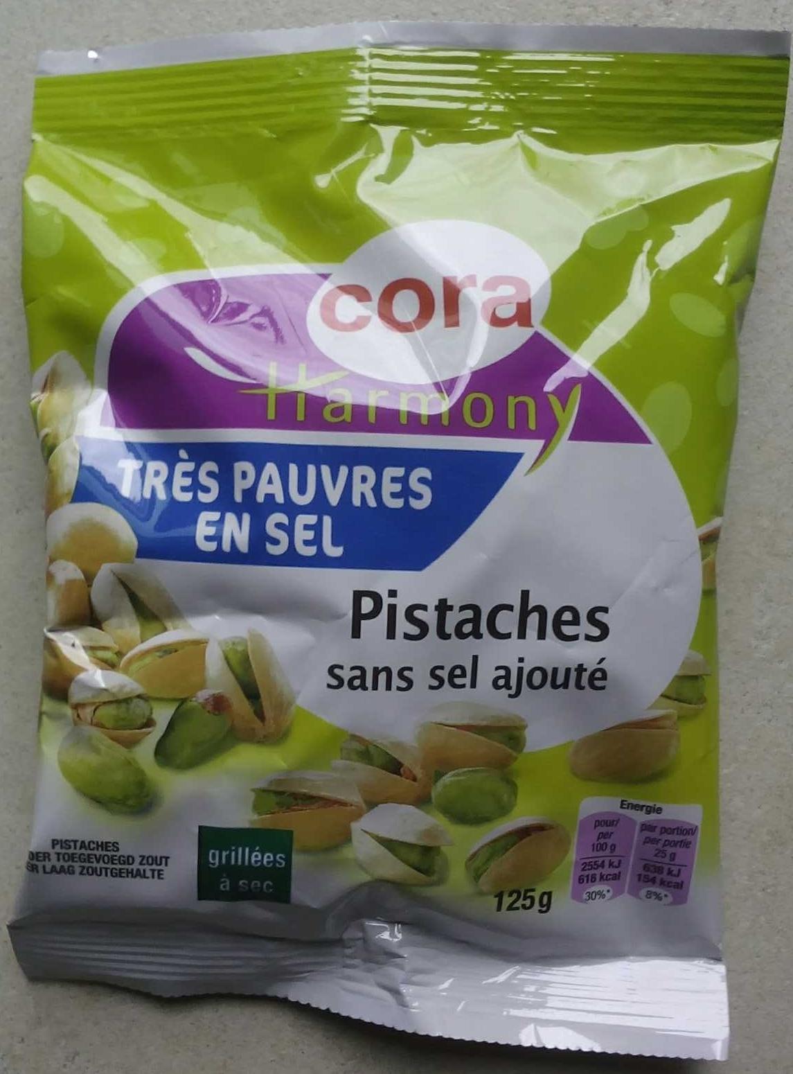 Pistaches sans sel ajouté - Produit - fr