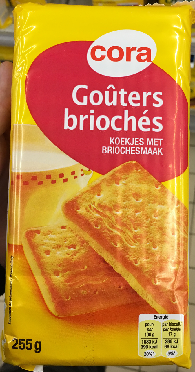 Go ters brioch s cora 255 g for Cora reims cormontreuil adresse