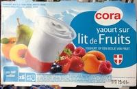 Yaourt sur lit de fruits - Produit - fr