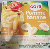 Compote pomme banane - Product