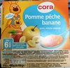 Pomme pêche banane - Product