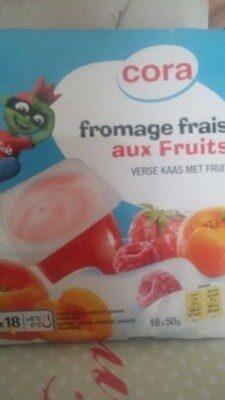 Fromage frais aux fruis - Product - fr