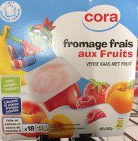 Fromage frais aux fruis - Voedingswaarden - fr