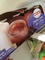 Petit pot creme chocolat - Produit - fr