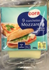 9 tranchettes de Mozzarella (22,2% MG) - Product