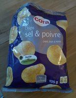 Chips sel et poivre - Produit - fr
