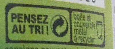 Salade Niçoise au thon - Instruction de recyclage et/ou information d'emballage - fr