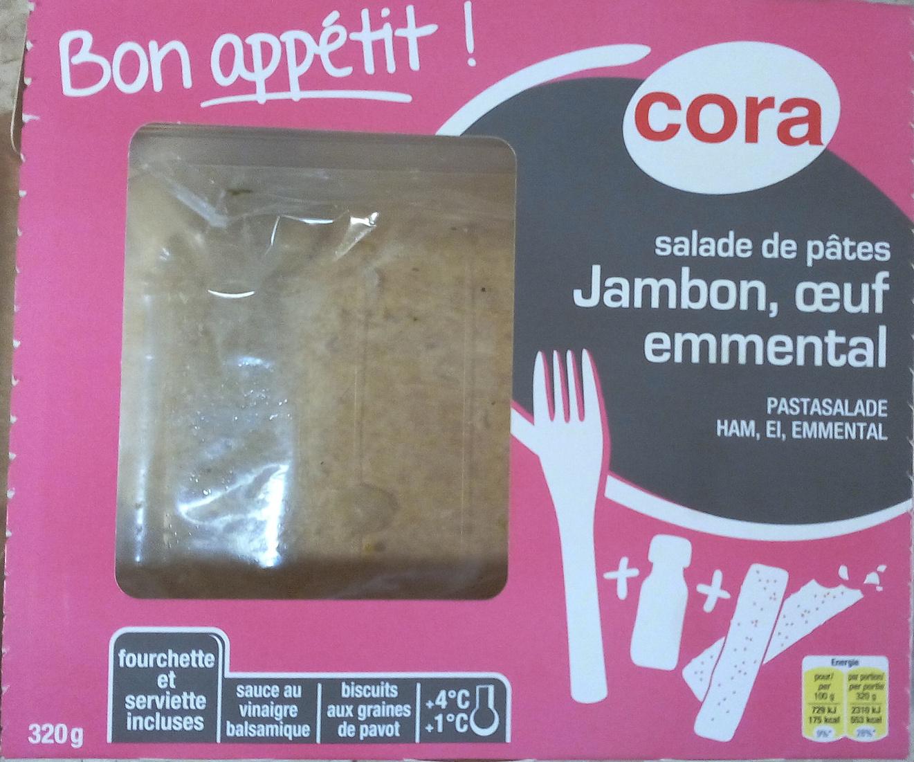 Salade de pâtes, Jambon, œuf, emmental - Product