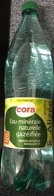 Eau minérale naturelle gazéifiée - Produit - fr