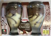 Dessert glacé parfum Chocolat - Produit - fr