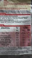 Frites au four - Nutrition facts - fr