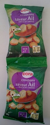 Croûtons saveur Ail - Produit - fr