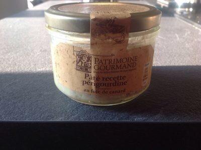 Pate recette perigourdine au foie de canard - Produit - fr