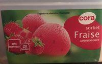 Sorbet fraise - Produit - fr