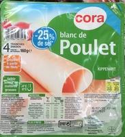 Blanc de poulet (-25% de sel) - Product