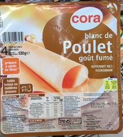 Blanc de Poulet goût fumé - Product